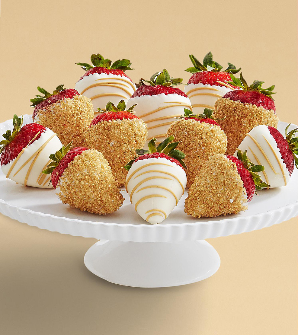 As Good As Gold Strawberries Two Dozen Theflowershop Ae