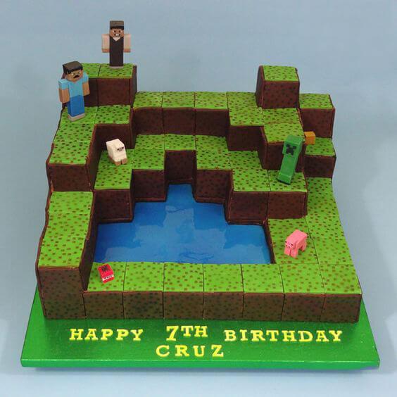 Birthday Cake With Code