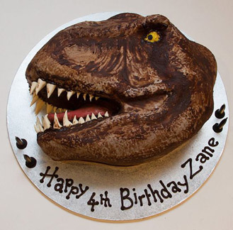 TRex Head Cake broadwaybakerycom 39953