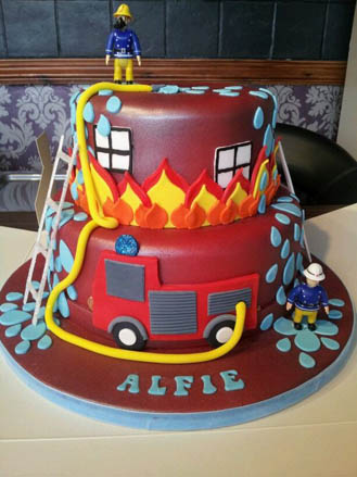 Fireman sam to the rescue cake 39619 - Gateau sam le pompier ...