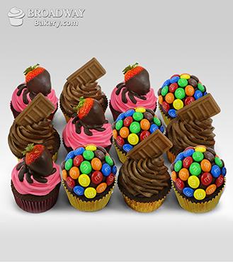 luxe cupcake dozen