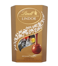 Lindt Lindor Chocolate Yellow