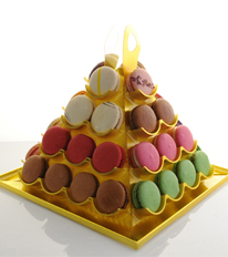 Macaroon Pyramid Box Medium By forrey & Galland
