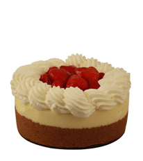 Original Plain Strawberry Cheesecake