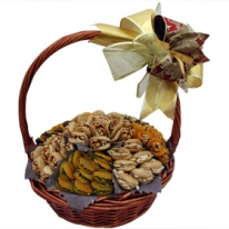 Dried Fruits &amp; Nut Gift Basket By Wafi Gourmet