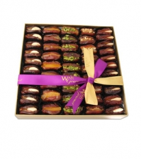 Asstd Dates Stuffed Luxury Gift Box Large By Wafi Gourmet