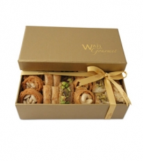 Assorted Baklawa Luxury Gift Box Small By Wafi Gourmet