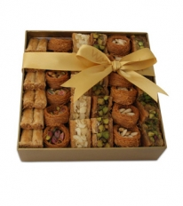 Assorted Baklawa Luxury Gift Box Medium By Wafi Gourmet