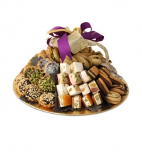 Assorted Sweets Round Tray