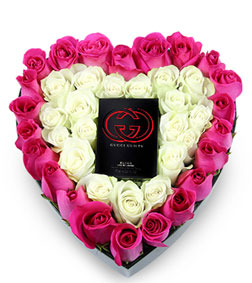 Precious Heart Bouquet with Gucci Guilty