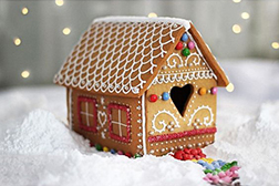 Sweet Welcome Gingerbread House