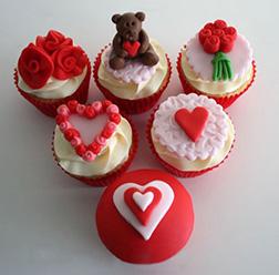 My Special Valentine Half Dozen (6) Cupcakes