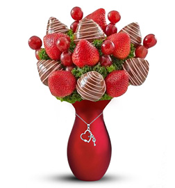 Sinfully Sweet Strawberry Fruit Bouquet