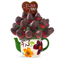Chocolate Dream Valentine's Fruit Bouquet