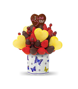 Eternal Love Valentine's Fruit Bouquet