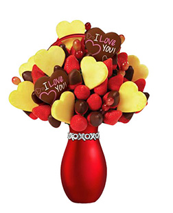 Everlasting Love Valentine's Fruit Bouquet