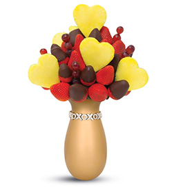 Deep Desires Valentine's Day Fruit Bouquet