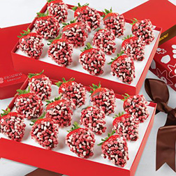 Deluxe Valentine's Day Dipped Berries