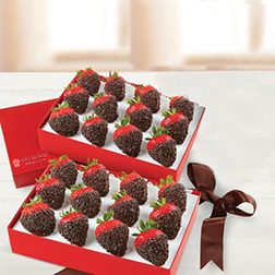 Be My Beloved Dipped Strawberries Box