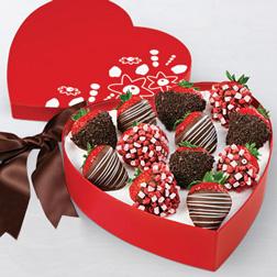 Sprinkles of Love Dipped Strawberries