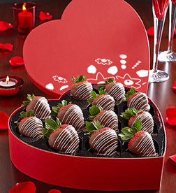 Decadent Swizzles Heart Box