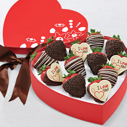 Love Notes Strawberry Dozen