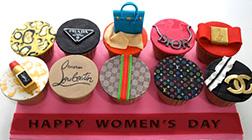 Passion for Fashion Cupcakes - Half Dozen