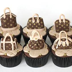 Louis Vuitton Heaven Cupcakes - Half Dozen