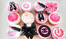 Glamour Girl Cupcakes - Half Dozen