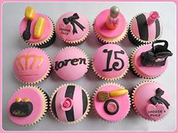 Prima Donna Cupcakes - Half Dozen