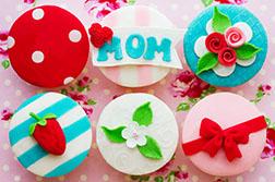 Mother's Day Delight Cupcakes - Half Dozen