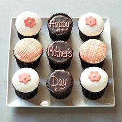 Happy Mother's Day Cupcakes - Half Dozen