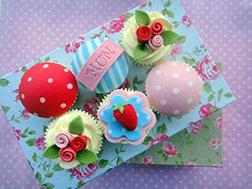 Terrific Treat For Mom Cupcakes - Half Dozen