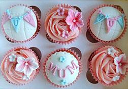 Mum's Special Day Cupcakes - Half Dozen