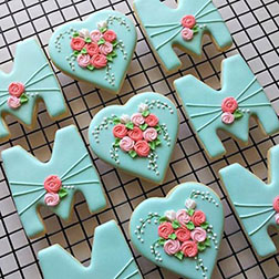 Tiffany Green Mother's Day Cookies