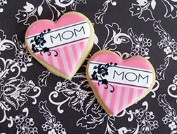 Classic Heart Mother's Day Cookies