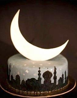 Eid Begins Cake
