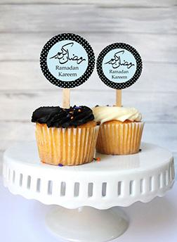 Ramadan Greetings Half Dozen Cupcakes