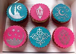 Ramadan Blessings Half Dozen Cupcakes