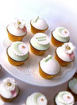 Ramadan Sweet Treats Half Dozen Cupcakes