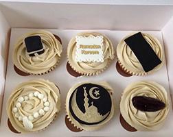 Delectable Ramadan Dozen Cupcakes
