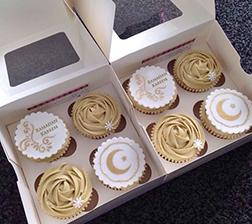 Ramadan Wishes Half Dozen Cupcake Collection