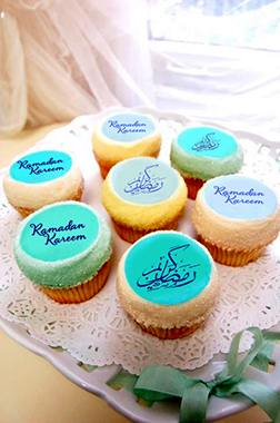 Ramadan Mabrook Half Dozen Cupcakes