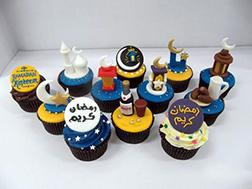 Spirit of Ramadan Hald Dozen Cupcakes