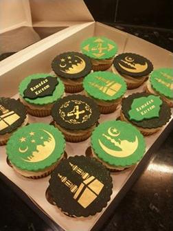 Elegant Ramadan Half Dozen Cupcakes