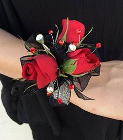 Red Rose Gala Corsage