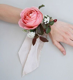 One Love Corsage