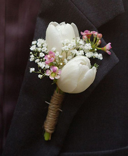 Wedding Reception Boutonniere