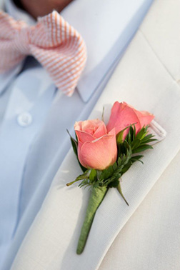 Dapper Rose Boutonniere