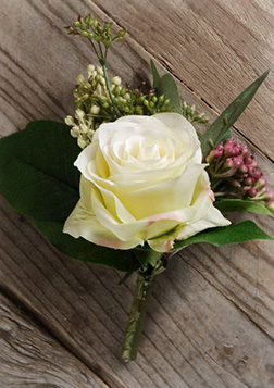 Regal Romance Boutonniere